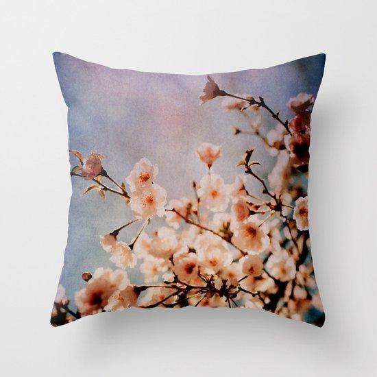 Spring Romance Throw Pillow