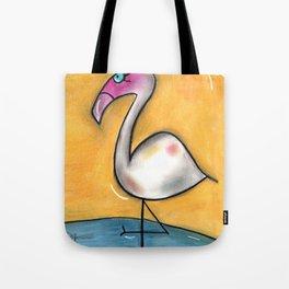 Flo-Mingo Tote Bag