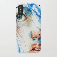 blues iPhone & iPod Cases featuring Blues by Jenny Viljaniemi