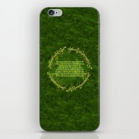 lord of the rings iPhone & iPod Skins featuring THE LORD OF THE RINGS by Bilqis