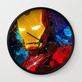 Iron man I Wall Clock