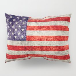 Antique American Flag Pillow Sham