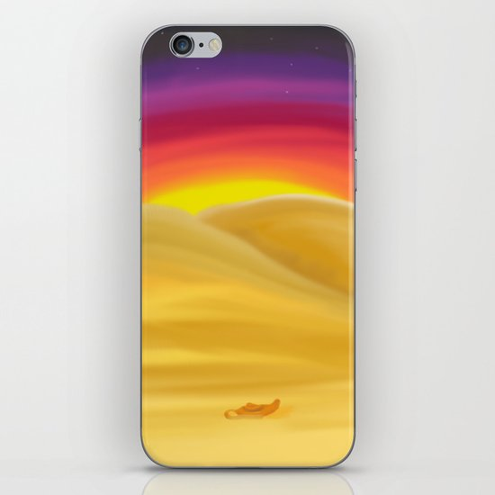 Desert Night iPhone & iPod Skin