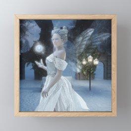 The Snow Fairy Framed Mini Art Print