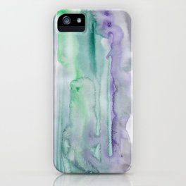 25 | 190907 | Watercolor Abstract Painting iPhone Case