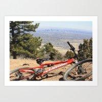 denver Art Prints featuring Denver by Chris Root