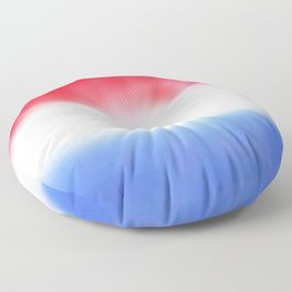 Flag of Netherlands 3 - with cloudy colors Floor Pillow