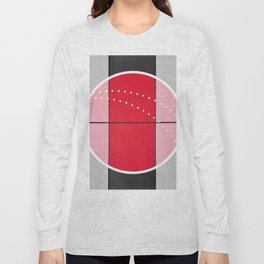 August - black and white graphic Long Sleeve T-shirt