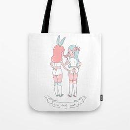 Cute Butt Club Tote Bag