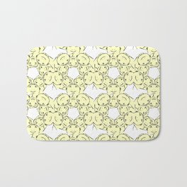 "series ""Rostidade em mandala"" - We dating Bath Mat"