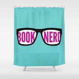 Book Nerd Shower Curtain