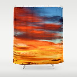 Sky Painting ... By LadyShalene Shower Curtain