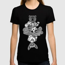 Grizzly and Sphynx T-shirt