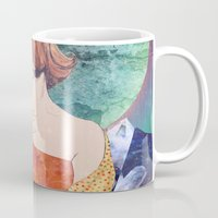 diamonds Mugs featuring Diamonds by Ryan Haran