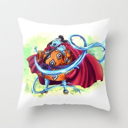 Jinbei - Knight of the Sea Throw Pillow