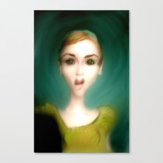 What?! Canvas Print