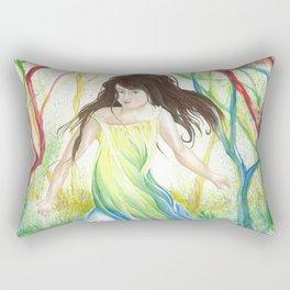 Little Girls Dream. Rectangular Pillow