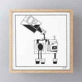 Camera Shots Framed Mini Art Print