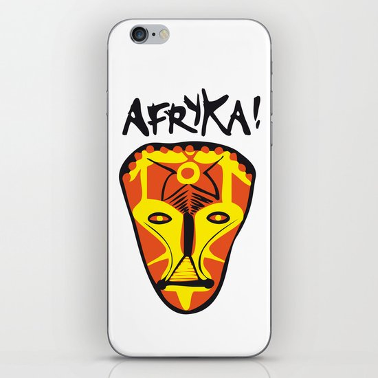 Afryka! iPhone & iPod Skin
