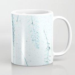 Botanical Pattern 3 (blue) Coffee Mug
