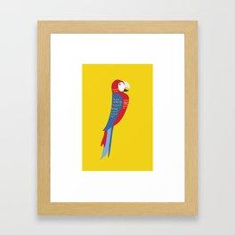 Parrot Love Framed Art Print