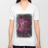 hydrangea V-neck T-shirts featuring Hydrangea by Paul & Fe Photography