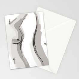 Nude Belly Stationery Cards