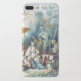 Le Jardin Chinois by François Boucher iPhone Case