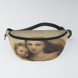 The Sistine Madonna Oil Painting by Raphael Fanny Pack