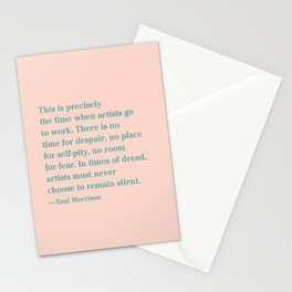 In Times of Dread Stationery Cards