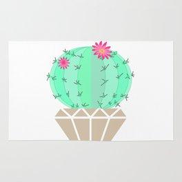 Round cactus in the goshka Rug