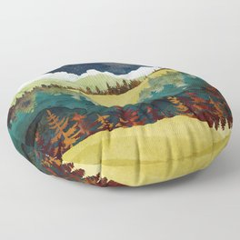 Autumn Moon Floor Pillow