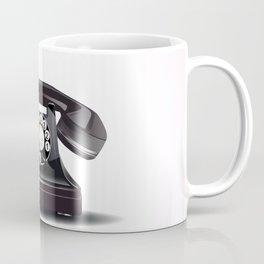 Vintage bakelite telephone Coffee Mug