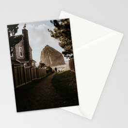 Cozy Cannon Beach, Oregon Stationery Cards