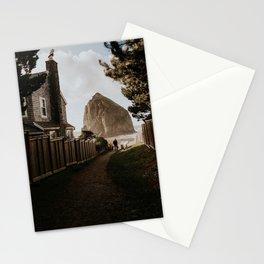 Cozy Cannon Beach, Oregon Stationery Cards