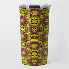 Some golden brooches ... Travel Mug