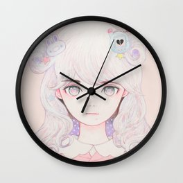 Cosmic Spring Wall Clock