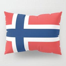 Norwegian Flag Pillow Sham