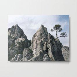 Castle crags Metal Print