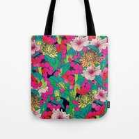 fruit Tote Bags featuring FRUIT by KIMENTE