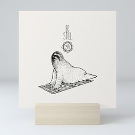Sloth Be Still Mini Art Print