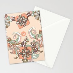 out heart Stationery Cards