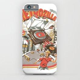 Retro Soundzilla iPhone Case