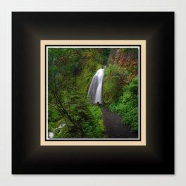 Wahkeena Falls West View, Oregon Series 2 of 2 Canvas Print