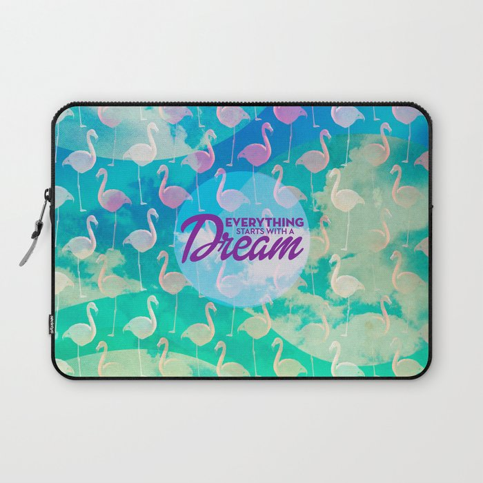 Flamingo Dream Laptop Sleeve