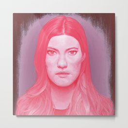 Debra Morgan Metal Print