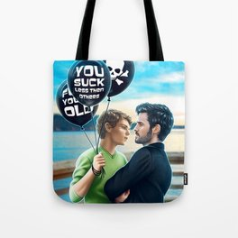 you suck less than others Tote Bag