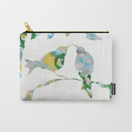 Bird onTree Happy Day Carry-All Pouch
