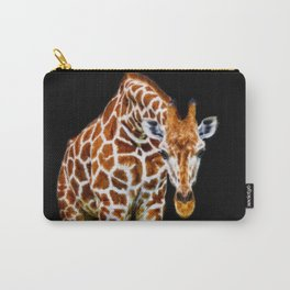 Graffic Giraffe Carry-All Pouch