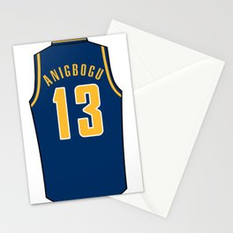 Ike Anigbogu Jersey Stationery Cards